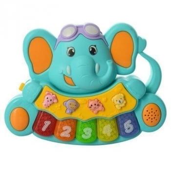 Купить Интерактивные и музыкальные игрушки, Пианино Mommy Love Слоненок (855-28A-2), Китай