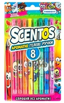 Набор ароматных гелевых ручек Scentos Феерия ароматов, 8 цветов (41203)