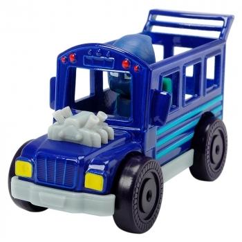 Машинка Dickie Toys Герои в масках Ночной ниндзябус, металлическая, 7 см (3141004)
