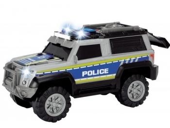 Купить Игрушечный транспорт, Полицейская машина Dickie Toys с звуковыми и световыми эффектами, 30 см (3306003), Серый