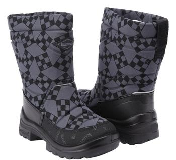Купить Детская обувь, Зимние сапоги Kuoma Путкиварси Ралли, р.27, серый (120311-1102-27), Финляндия, Серый