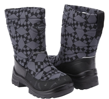 Купить Детская обувь, Зимние сапоги Kuoma Путкиварси Ралли, р.28, серый (120311-1102-28), Финляндия, Серый