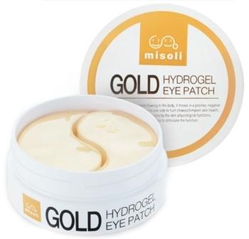 Купить Кремы и лосьоны, Патчи для кожи вокруг глаз Misoli Gold Eye Patch с коллоидным золотом, 60 шт., Южная Корея
