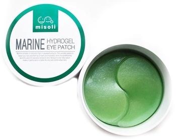 Купить Кремы и лосьоны, Патчи для кожи вокруг глаз Misoli Marine Eye Patch с морскими водорослями, 60 шт., Южная Корея