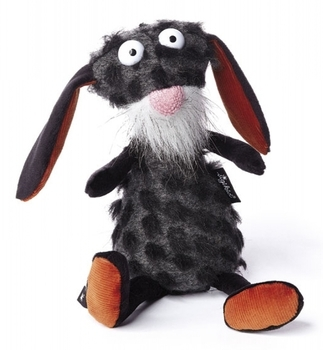 Купить Мягкие игрушки, Мягкая игрушка Sigikid Beasts Кролик черный, 29 см (38614SK), Германия