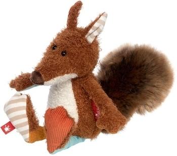 Купить Мягкие игрушки, Мягкая игрушка Sigikid Patchwork Sweety Белочка, 25 см (38979SK), Германия