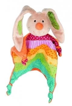 Купить Мягкие игрушки, Мягкая игрушка-кукла Sigikid Кролик, квадратная, 25 см (40576SK), Германия