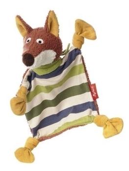 Купить Мягкие игрушки, Мягкая игрушка-кукла Sigikid Лис, квадратная, 23 см (41340SK), Германия