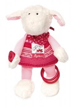 Купить Мягкие игрушки, Мягкая игрушка Sigikid Овечка, 26 см (41465SK), Германия