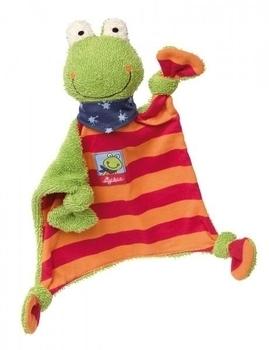 Купить Мягкие игрушки, Мягкая игрушка-кукла Sigikid Лягушка, квадратная, 26 см (38685SK), Германия