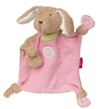 Купить Мягкие игрушки, Мягкая игрушка Sigikid Собачка, квадратная, розовый, 26 см (38785SK), Германия