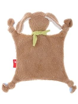 Купить Мягкие игрушки, Мягкая игрушка Sigikid Собачка, квадратная, синий, 26 см (38792SK), Германия