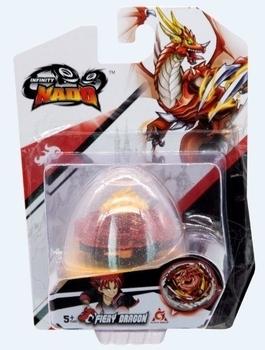 Купить Сюжетно-ролевые наборы. Профессии, Волчок Auldey Infinity Nado V серія Nado Egg Fiery Dragon Огненный Дракон (YW634102), Китай