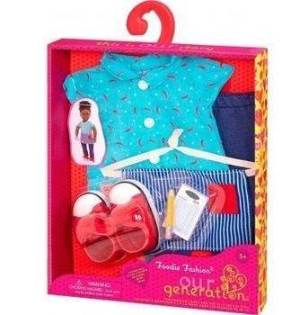 Купить Фигурки, куклы и игрушки-антистресс, Набор одежды для кукол Our Generation Продавец (BD30375Z)