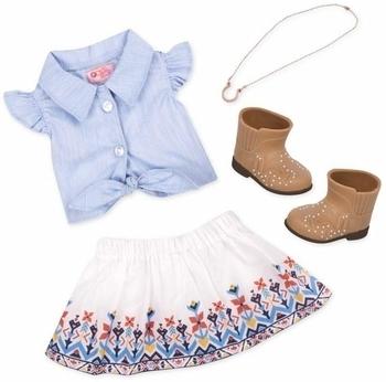 Купить Фигурки, куклы и игрушки-антистресс, Набор одежды для кукол Our Generation для ранчо (BD30359Z)