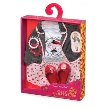 Купить Фигурки, куклы и игрушки-антистресс, Набор одежды для кукол Our Generation Куртка с юбкой (BD30117Z)