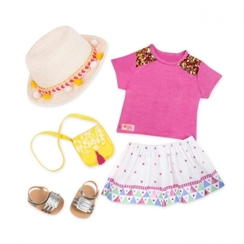 Купить Фигурки, куклы и игрушки-антистресс, Набор одежды для кукол Our Generation Deluxe для отпуска (BD30342Z)