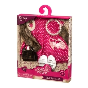 Купить Фигурки, куклы и игрушки-антистресс, Набор одежды для кукол Our Generation Deluxe Ретро Шик (BD60009Z)