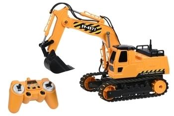 Купить Игрушечный транспорт, Машинка на ручном управлении Same Toy Инженерный экскаватор (E571-003)