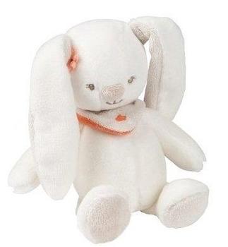 Купить Мягкие игрушки, Мягкая игрушка Nattou Кролик Мия, 18 см (5620341), Китай, Белый