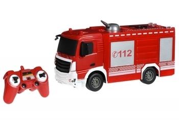 Купить Игрушечный транспорт, Машинка на радио управлении Same Toy Пожарная машина с распылителем воды (E572-003), Красный