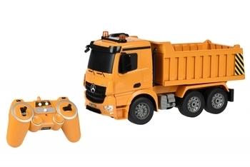 Купить Игрушечный транспорт, Машинка на радио управлении Same Toy Самосвал Mercedes-Benz 1:20, желтый (E525-003)