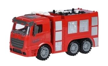 Купить Игрушечный транспорт, Инерционная пожарная машина Same Toy Truck (98-618Ut), Красный