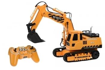 Купить Игрушечный транспорт, Машинка на радио управлении Same Toy Экскаватор 1:20 (E511-003), Желтый