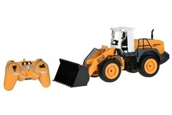 Купить Игрушечный транспорт, Машинка на радио управлении Same Toy Погрузчик 1:12 (E519-003), Желтый