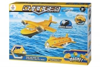 Купить Игрушечный транспорт, Магнитный конструктор Same Toy Самолет (8803Ut), Китай
