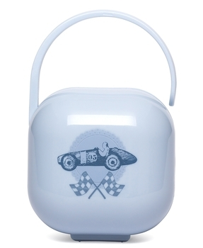 Контейнер для пустышки Suavinex Истории малышей, голубой (304398