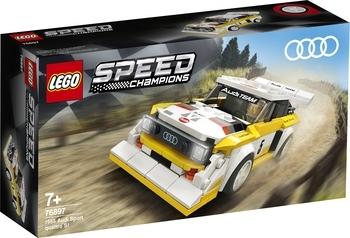 Купить Конструкторы и трансформеры, Конструктор LEGO Speed Champions 1985 Audi Sport quattro S1, 250 деталей (76897)