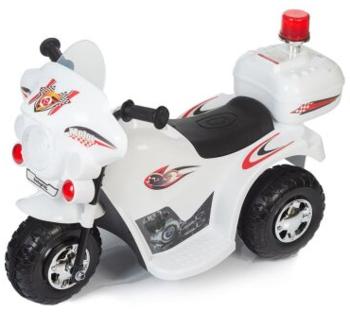 Купить Детский транспорт, Детский электромотоцикл Babyhit Little Biker White, белый (71 630), Китай, Белый