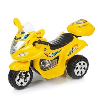 Купить Детский транспорт, Детский электромотоцикл Babyhit Little Racer Yellow, желтый (71 627), Китай, Желтый