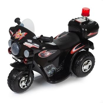 Купить Детский транспорт, Детский электромотоцикл Babyhit Little Biker Black, черный (71 631), Китай, Черный