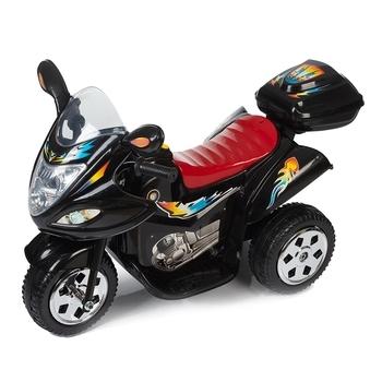 Купить Детский транспорт, Детский электромотоцикл Babyhit Little Racer Black, черный (71 628), Китай, Черный