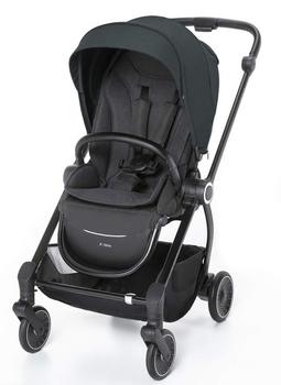 Купить Детские коляски, Прогулочная коляска Espiro Galaxy 10 Black Space, черный (5906724202803), Китай, Черный