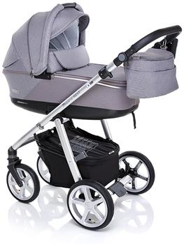 Купить Детские коляски, Универсальная коляска 2 в 1 Espirо Next Silver Talisman, серый (5901750292545), Espiro, Китай