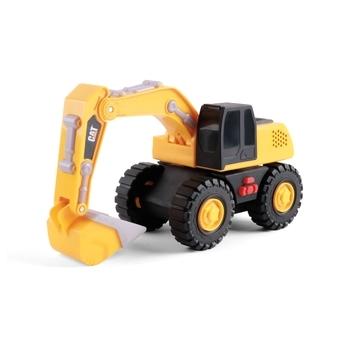 Купить Игрушечный транспорт, Экскаватор Funrise CAT Future Force Сильные помощники, со световыми и звуковыми эффектами, 25 см (82399), Вьетнам