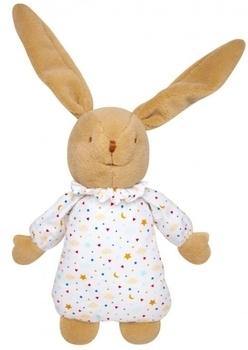 Купить Мягкие игрушки, Мягкая музыкальная игрушка Trousselier Пушистый кролик, 25 см, белый, Франция