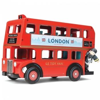 Игровой набор Le Toy Van Лондонский автобус с водителем
