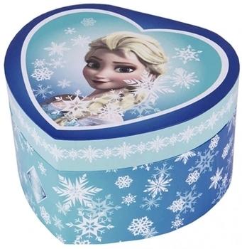 Купить Декор, Музыкальная шкатулка-сердце Trousselier Холодное сердце Эльза, голубой, Франция