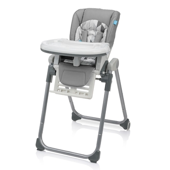 Купить Стульчики для кормления и бустеры, Стульчик для кормления Baby Design Lolly Pastell 07 Silk Gray (201394)