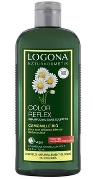 Купить Шампуни и кондиционеры для волос, Био-Шампунь Logona Ромашка, для окрашенных светлых волос, 250 мл, Германия