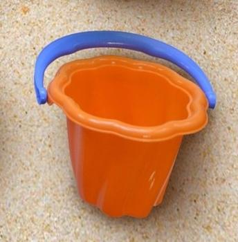 Купить Игрушки для улицы, Детское ведро Simba Волна, оранжевый (7106525/1142), Оранжевый