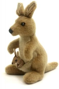 Купить Мягкие игрушки, Мягкая игрушка Hansa Кегуру, 20 см (3424), Филиппины