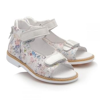 Купить Детская обувь, Сандалии Theo Leo, кожа, р.25, белый (936_25), Турция