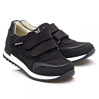 Купить Детская обувь, Кроссовки Theo Leo, нубук, р.32, черный (926_32), Турция