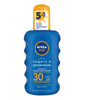 Купить Средства защиты от солнца, Масло-спрей для загара Nivea, SPF 6, 200 мл