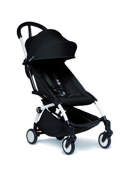 Купить Детские коляски, Прогулочная коляска BabyZen YoYo 2 Black, с белой рамой, черный (BZ10109-01/BZ10104-05), Китай, Черный